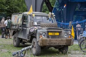 Der über 30 Jährige Rover der Rover-Crew