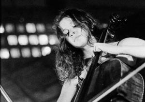 Gastmusikerin Maya Fridman (Chello)