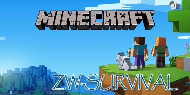 minecraft survival-server zwischen-welten gaming logo cover